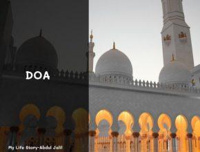 doa seribu wanita di masjid