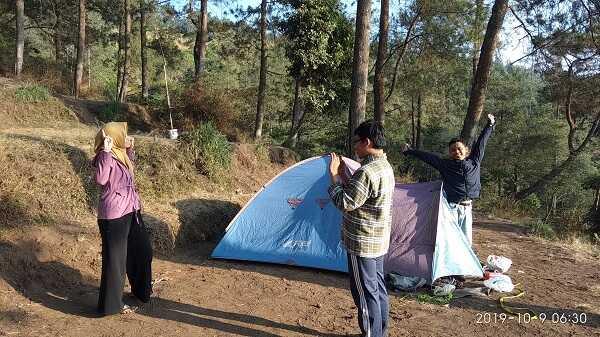 foto, tenda dan kemah