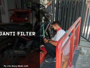 ganti filter di ahass