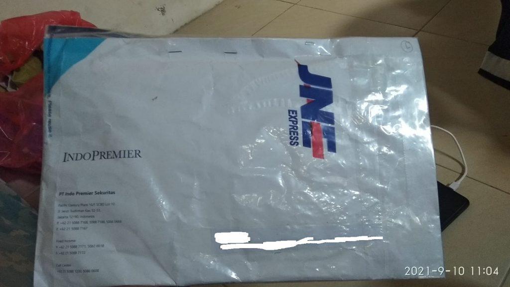 dapat paket dari ipot